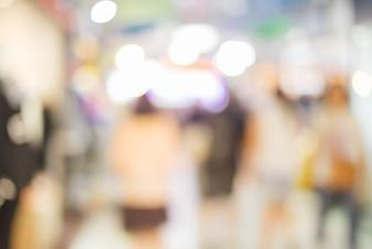Sightseeing blur boom marketplace scherm