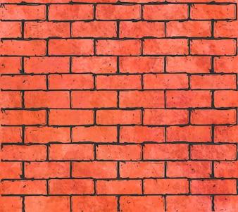 Solide rode baksteen