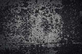 Sombere betonnen muur