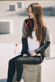 Sportmeisje