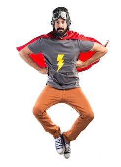 Superhero vliegen