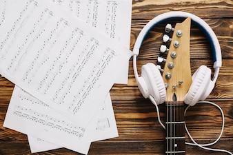 Tafel van muzikant