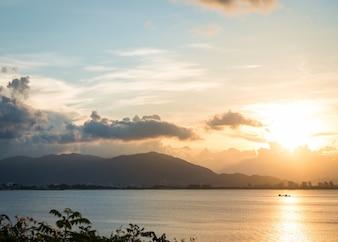 Uitzicht op Nha Trang