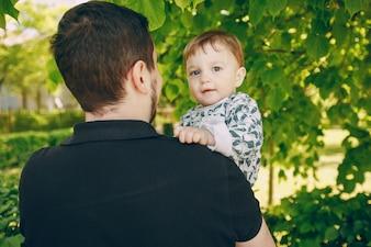 Vader met kind
