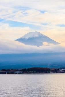 Vulkaan Fuji dag mooie mt