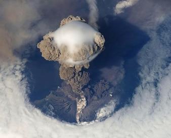 vulkanische uitbarsting vulkaan vulkanisme