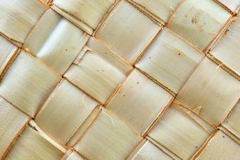 Weefpatroon van palmbladeren