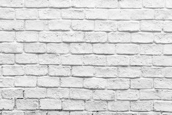 Witte bakstenen muur achtergrond