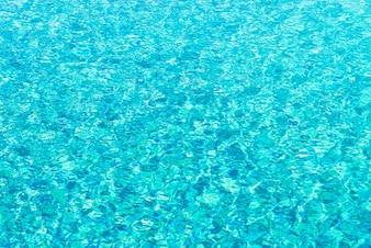 Zonlicht oppervlak rustige onderwater kleur