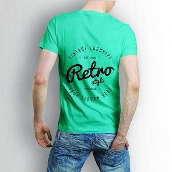 Achterkant overhemd mock up