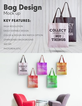 Bag ontwerp mock-up