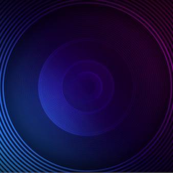 Blauwe cirkel achtergrond