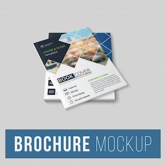 Brochure mock up design