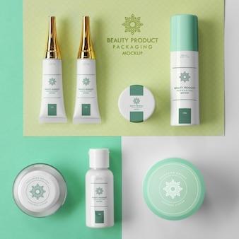 Cosmetica mock up design
