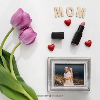 De dag van moeders presentatie