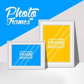 Frame mock up collectie