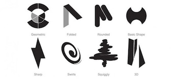 Gratis logo template set