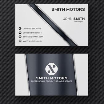 Grijs corporate business card