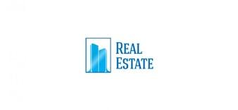 Logo ontwerpsjabloon voor vastgoedondernemingen