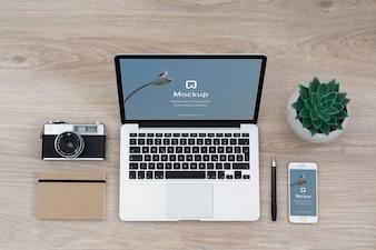 Mac mock-up ontwerp