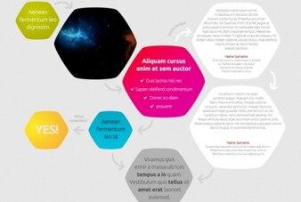 Moderne vorm infographics
