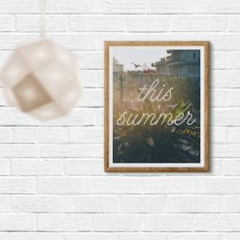 Poster mock up ontwerp