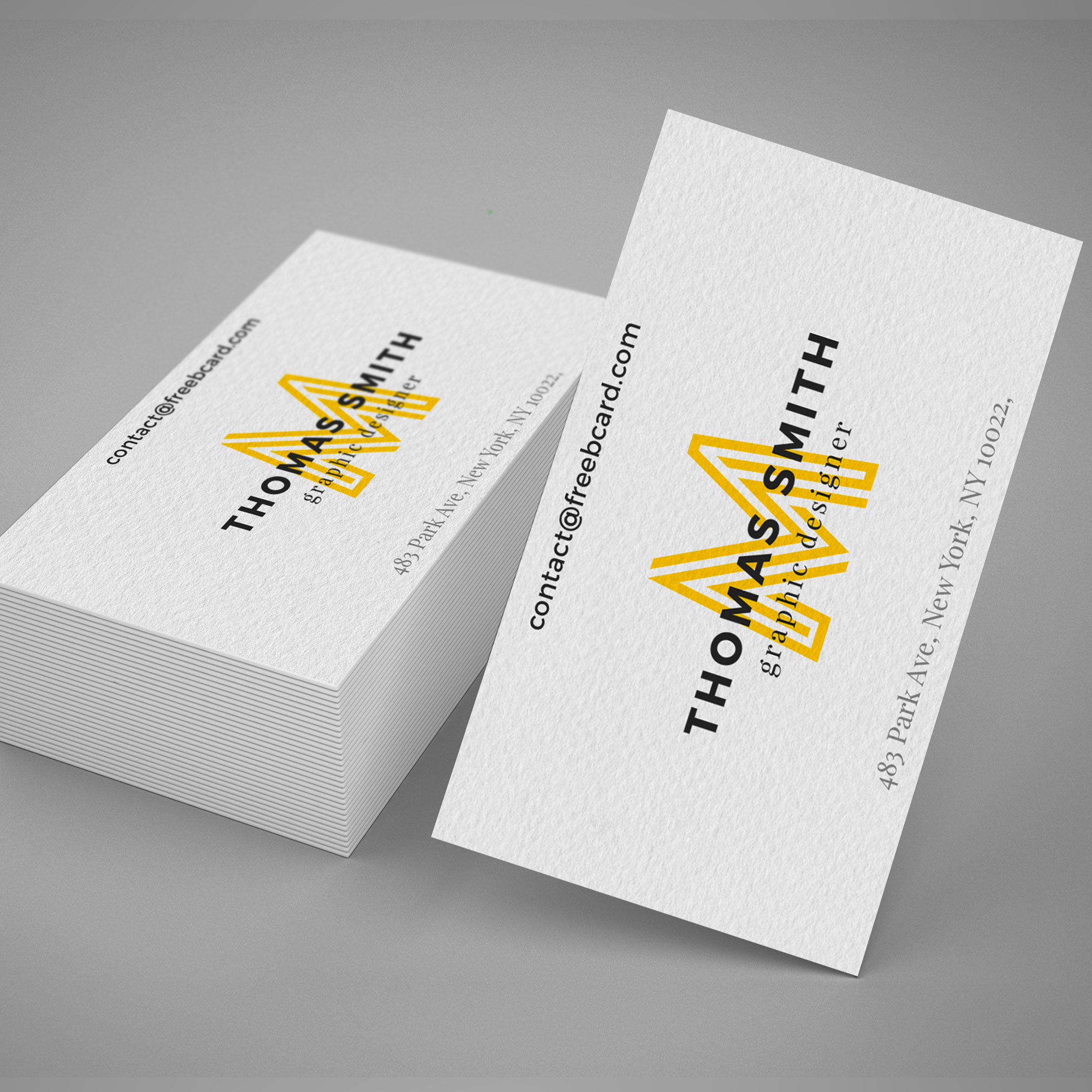 Realistisch Business Card mockup