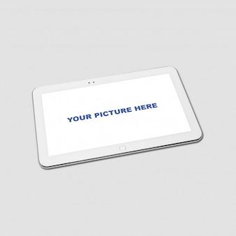 Realistische Tablet Mockup