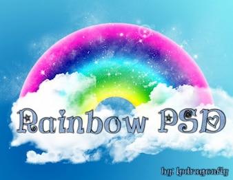 Regenboog psd