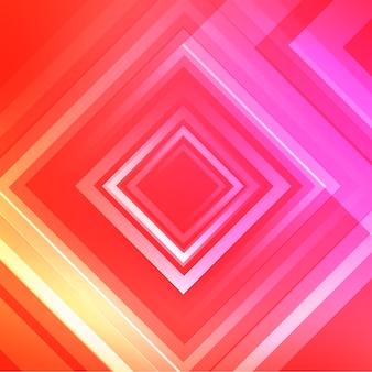 Roze rhombus achtergrondontwerp