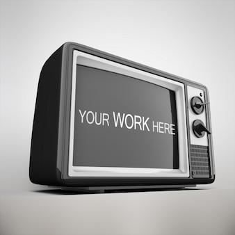 Televisie mock up design