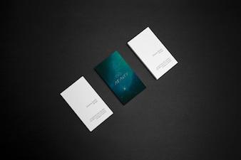 Visitekaartjes mock up design