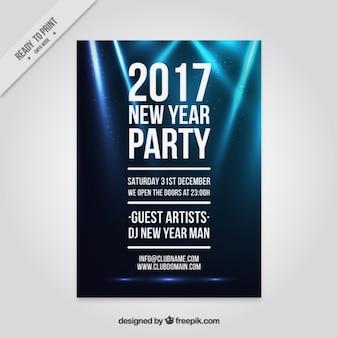2016 partij poster met verlichting