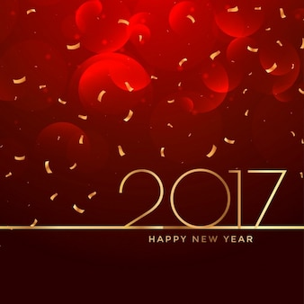 2017 nieuwe jaar feest achtergrond in rode kleur