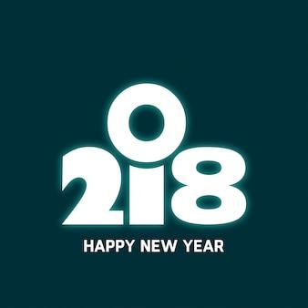 2018 Gloeiende Achtergrond
