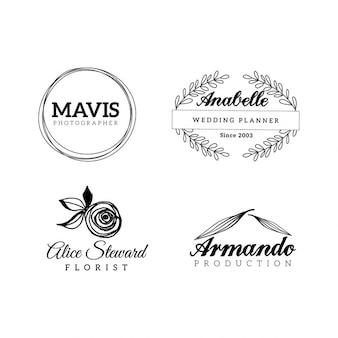 4 logo's