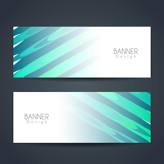 Abstract elegant banner ontwerp