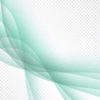 Abstract elegant golf transparante achtergrond