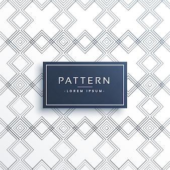 Abstract geometrische patroon vector background
