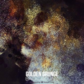 Abstract grunge achtergrond met gouden details