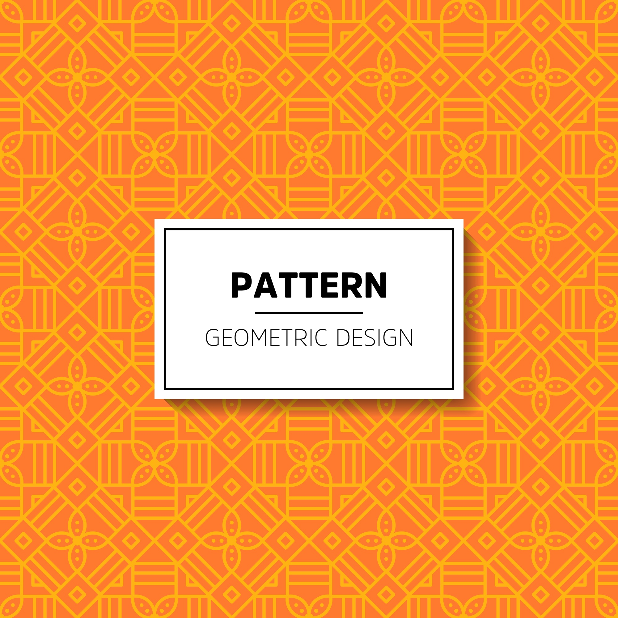 Abstract ornament patroon