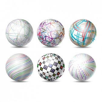 Abstract Sphere Collection