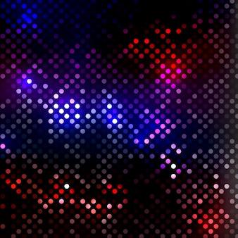 Abstracte achtergrond met disco lichten ontwerp