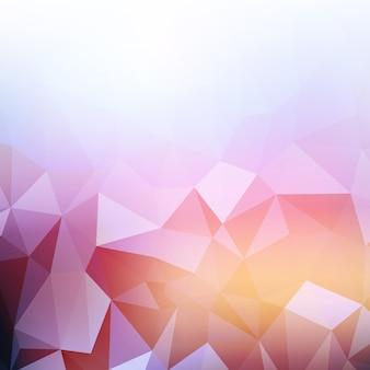 Abstracte achtergrond met een laag poly ontwerp