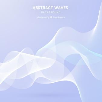 Abstracte achtergrond met golvende vormen
