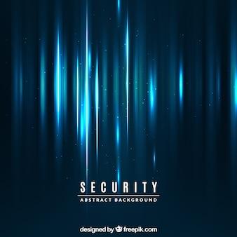 Abstracte achtergrond van blauwe lichten