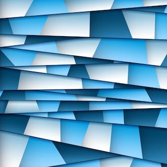Abstracte blauwe papier achtergrond