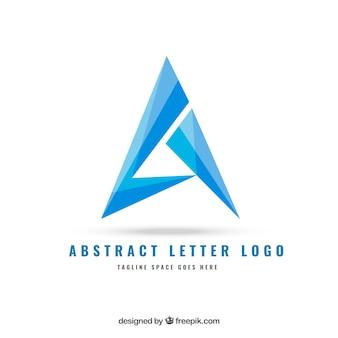 Abstracte brief logo