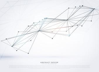 Abstracte gaas gemaakt met lijnen digitale achtergrond