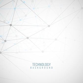 Abstracte grijze technologische achtergrond